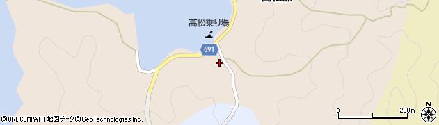 大分県佐伯市高松浦182周辺の地図