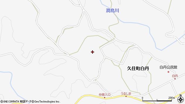 大分県竹田市久住町大字白丹4444周辺の地図