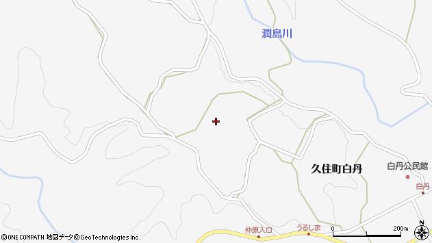 大分県竹田市久住町大字白丹4427周辺の地図