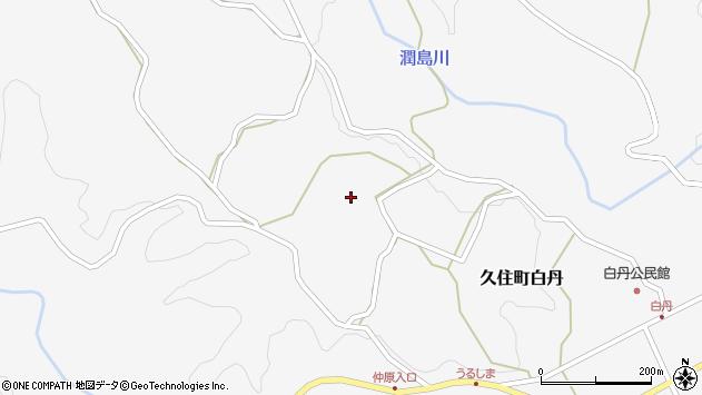 大分県竹田市久住町大字白丹4430周辺の地図