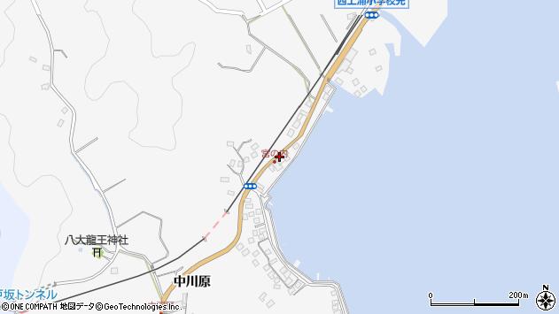 大分県佐伯市護江598周辺の地図