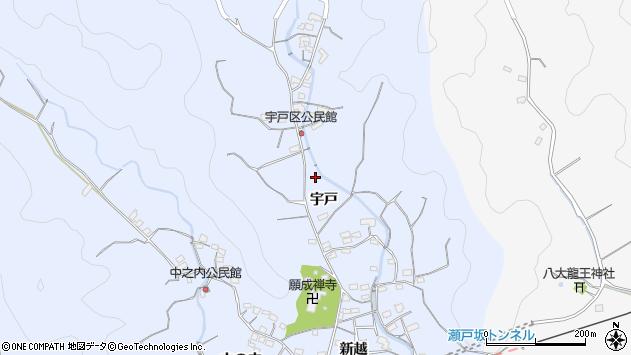 大分県佐伯市戸穴2107周辺の地図