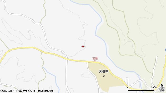 大分県竹田市久住町大字白丹1579周辺の地図