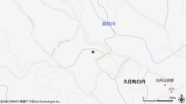 大分県竹田市久住町大字白丹4423周辺の地図