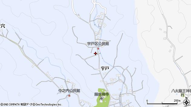 大分県佐伯市戸穴2159周辺の地図
