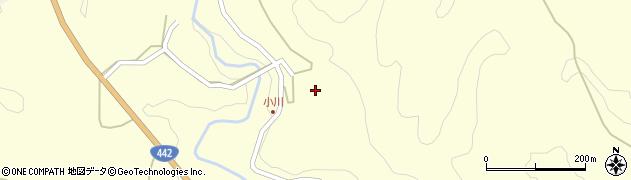 大分県竹田市小川1268周辺の地図
