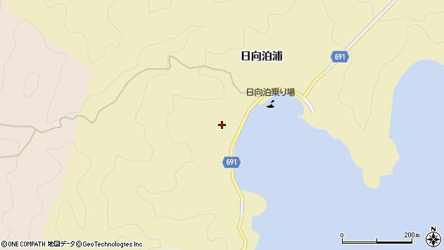 大分県佐伯市日向泊浦464周辺の地図