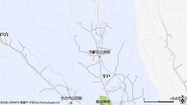 大分県佐伯市戸穴2169周辺の地図