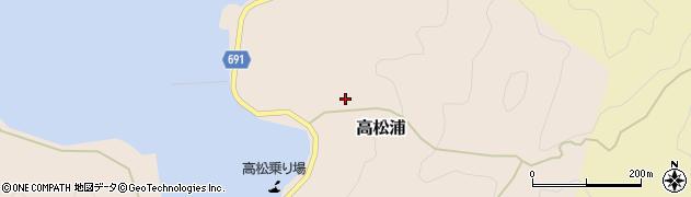 大分県佐伯市高松浦659周辺の地図