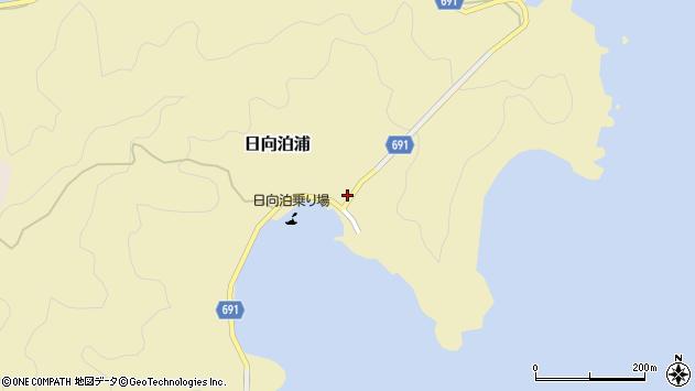 大分県佐伯市日向泊浦85周辺の地図