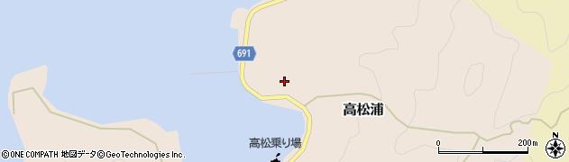 大分県佐伯市高松浦752周辺の地図