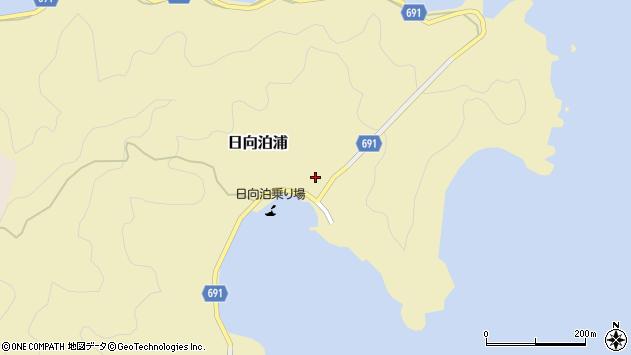 大分県佐伯市日向泊浦100周辺の地図