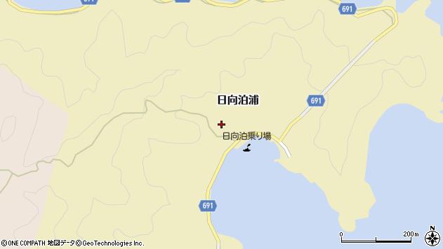 大分県佐伯市日向泊浦175周辺の地図