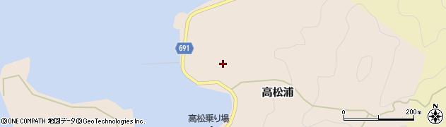 大分県佐伯市高松浦741周辺の地図