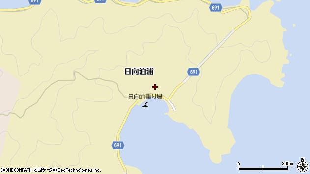 大分県佐伯市日向泊浦118周辺の地図