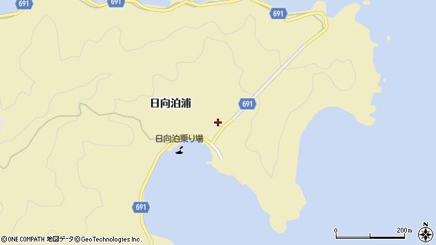 大分県佐伯市日向泊浦97周辺の地図