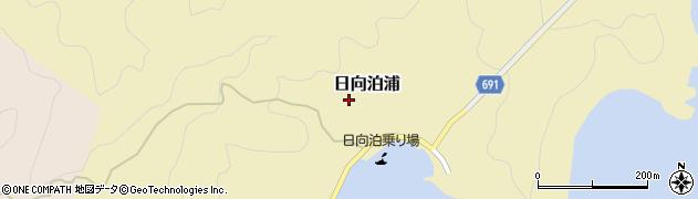 大分県佐伯市日向泊浦187周辺の地図