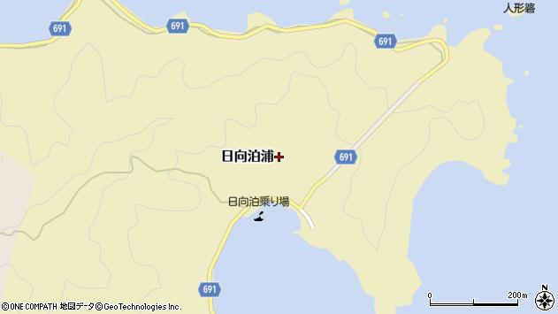 大分県佐伯市日向泊浦208周辺の地図