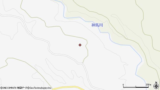 大分県竹田市久住町大字白丹1638周辺の地図