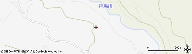 大分県竹田市久住町大字白丹1650周辺の地図