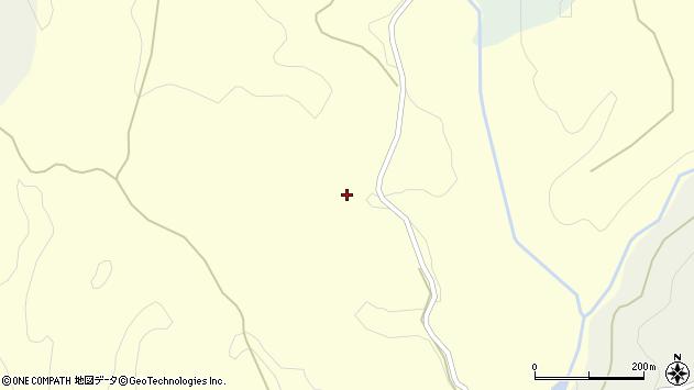 大分県竹田市小川長田尾周辺の地図