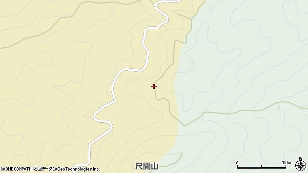 大分県佐伯市弥生大字尺間946周辺の地図