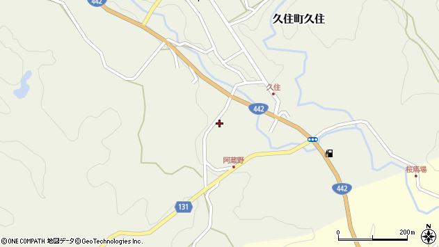 大分県竹田市久住町大字久住5741周辺の地図