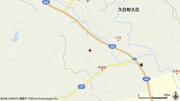 大分県竹田市久住町大字久住5727周辺の地図