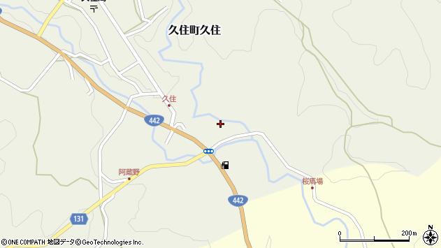 大分県竹田市久住町大字久住6051周辺の地図