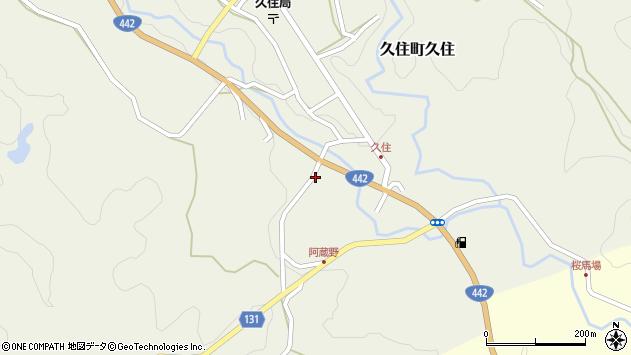 大分県竹田市久住町大字久住5724周辺の地図
