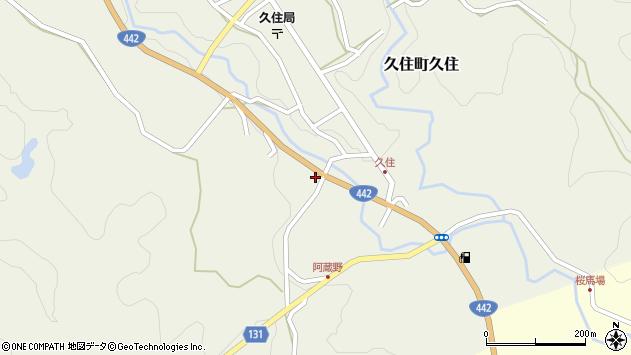 大分県竹田市久住町大字久住5719周辺の地図