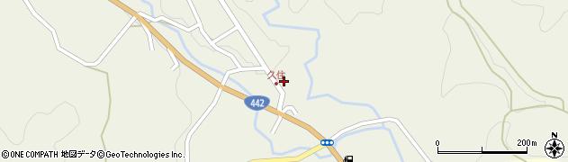 大分県竹田市久住町大字久住6065周辺の地図