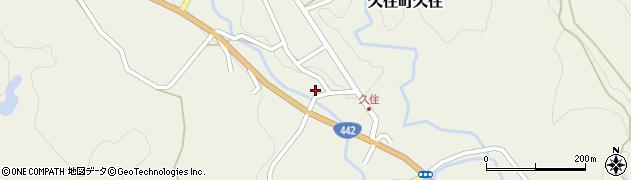 大分県竹田市久住町大字久住6022周辺の地図