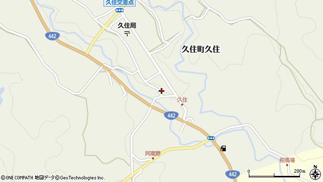 大分県竹田市久住町大字久住6092周辺の地図