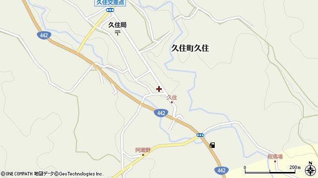 大分県竹田市久住町大字久住6089周辺の地図