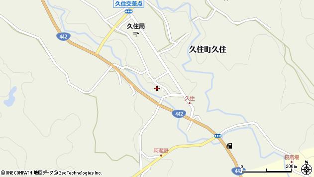 大分県竹田市久住町大字久住6024周辺の地図