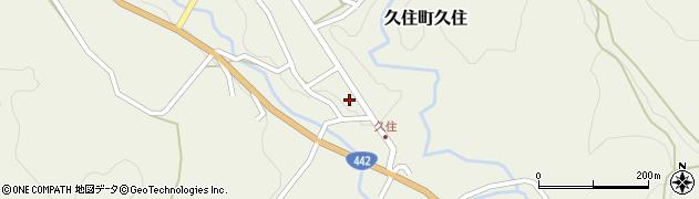 大分県竹田市久住町大字久住6093周辺の地図