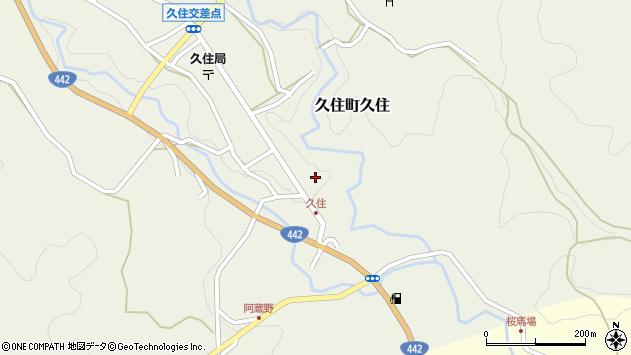 大分県竹田市久住町大字久住6081周辺の地図