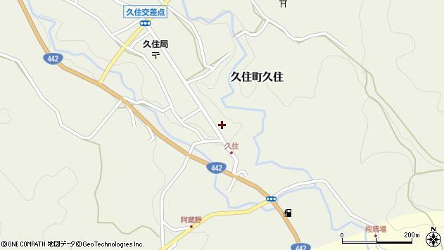 大分県竹田市久住町大字久住6210周辺の地図
