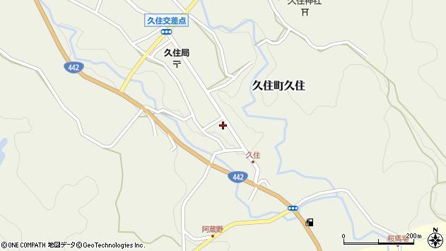 大分県竹田市久住町大字久住6096周辺の地図