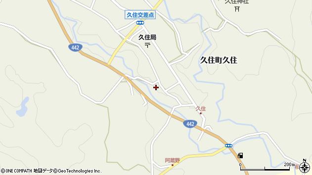 大分県竹田市久住町大字久住6014周辺の地図