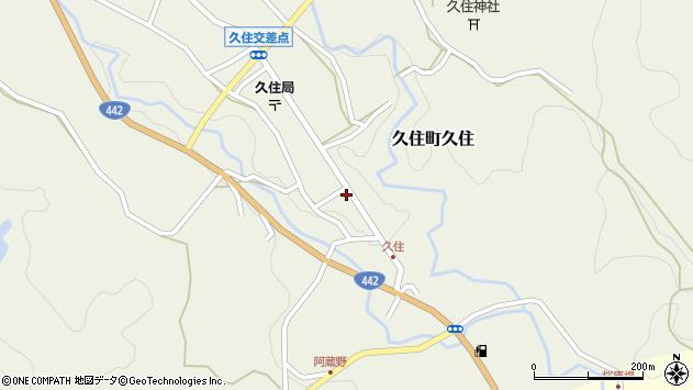 大分県竹田市久住町大字久住6098周辺の地図