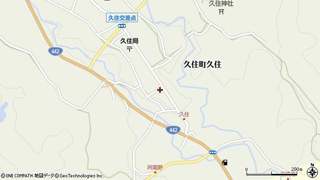 大分県竹田市久住町大字久住6206周辺の地図