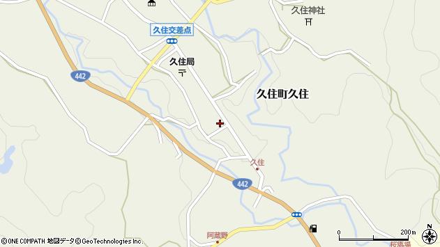 大分県竹田市久住町大字久住6102周辺の地図