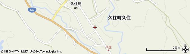 大分県竹田市久住町大字久住6208周辺の地図
