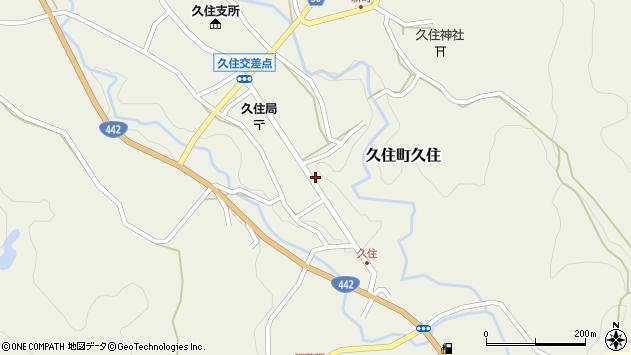 大分県竹田市久住町大字久住6199周辺の地図