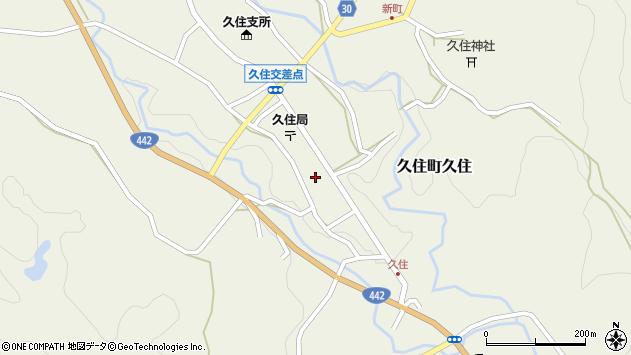 大分県竹田市久住町大字久住6120周辺の地図