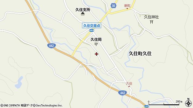 大分県竹田市久住町大字久住6130周辺の地図