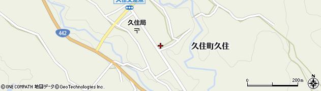 大分県竹田市久住町大字久住6191周辺の地図