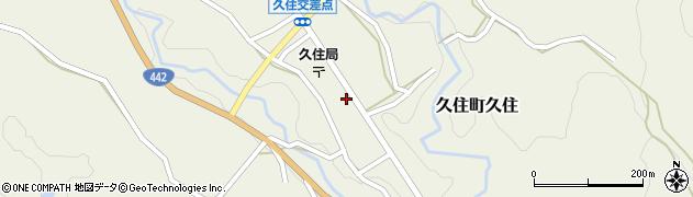 大分県竹田市久住町大字久住6123周辺の地図